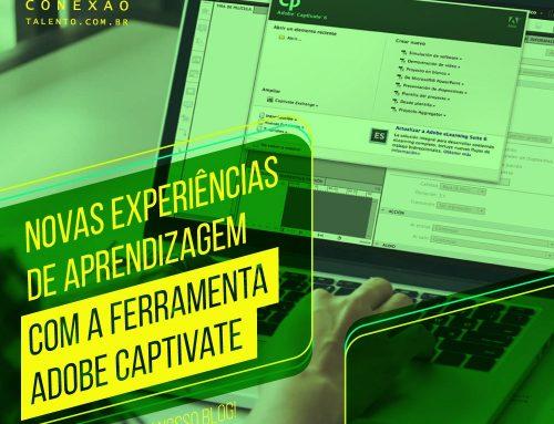 Novas experiências de aprendizagem com a ferramenta Adobe Captivate